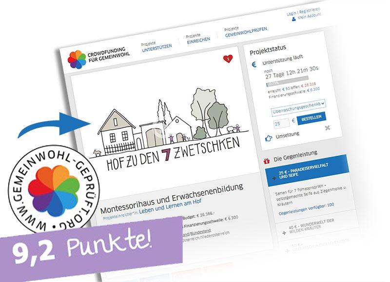 ➔ Hier geht's zur Plattform Crowdfunding für Gemeinwohl!
